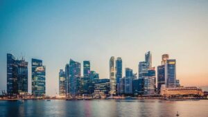 Buildings in Singapour